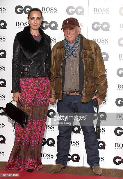 Catherine Bailey and David Bailey attend the GQ Men Of The Year Awards at The Royal Opera House on September 8 2015 in London England