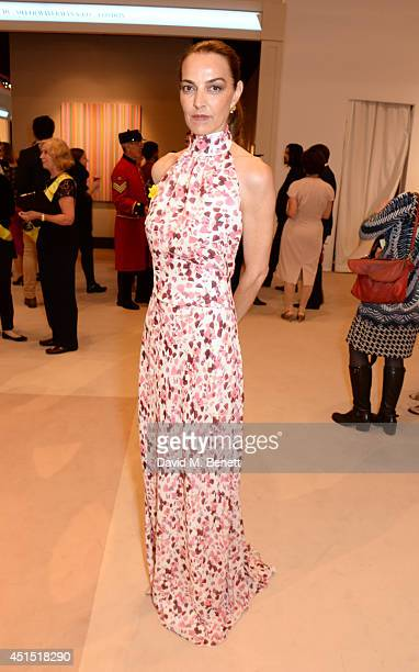 Catherine Bailey arrives at The Masterpiece Marie Curie Party supported by JaegerLeCoultre and hosted by Heather Kerzner at The Royal Hospital...