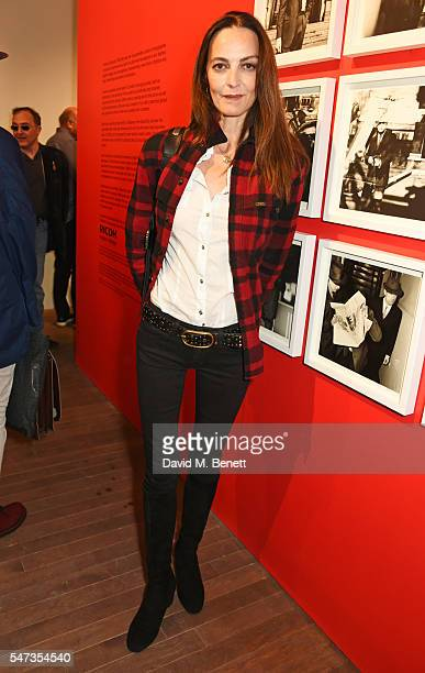 Catherine Bailey attends a private view of 'Terence Donovan Speed Of Light' at The Photographers' Gallery on July 14 2016 in London England