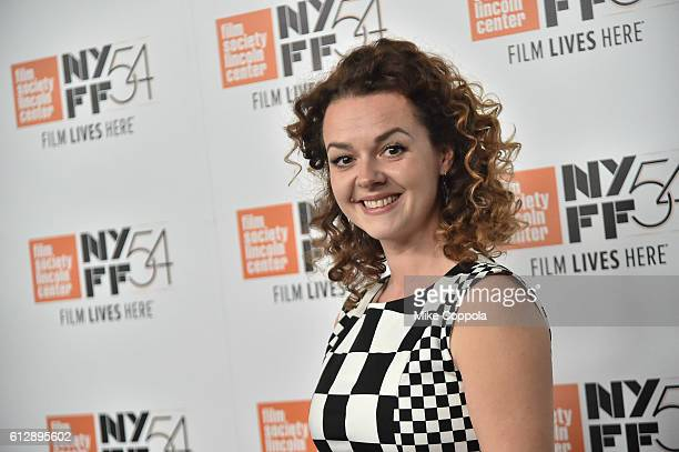 Catherine Bailey attends A Quiet Passion and Neruda premiere during the 54th New York Film Festival at Alice Tully Hall on October 5 2016 in New York...