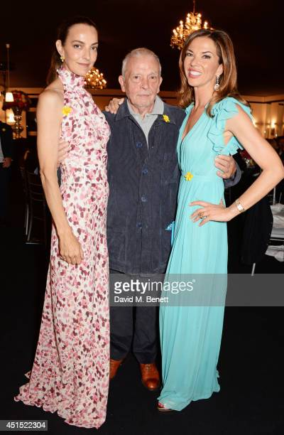 Catherine Bailey David Bailey and Heather Kerzner attend The Masterpiece Marie Curie Party supported by JaegerLeCoultre and hosted by Heather Kerzner...