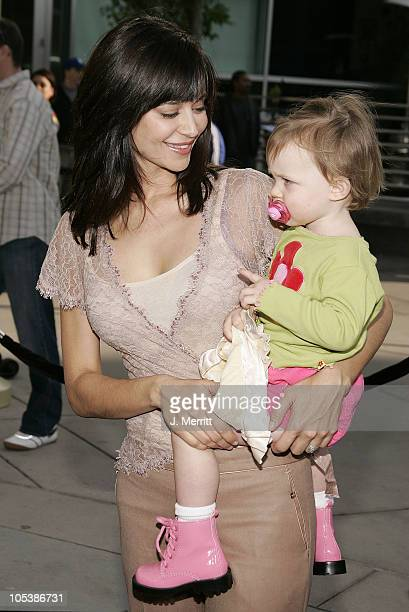 Catherine Bell and daughter Gemma during Lemony Snicket's A Series Of Unfortunate Events World Premiere Arrivals at Grauman's Chinese Theater in...