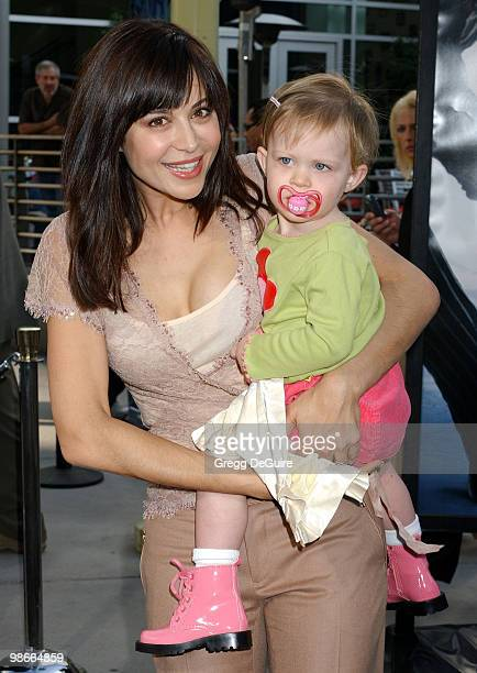 Catherine Bell and daughter Gemma