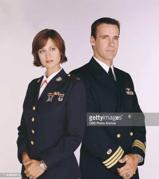 Catherine Bell and David James Elliott star on JAG