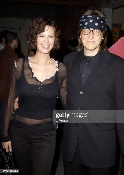 Catherine Bell and Gottfried Helnwein