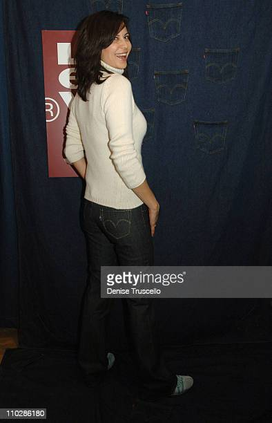 Catherine Bell at Levi's Dry Goods during 2006 Park City Levi's Dry Goods Day 2 at Main Street in Park City Utah United States