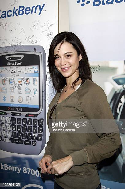 Catherine Bell at the BlackBerry 8700c Self Magazine Lounge