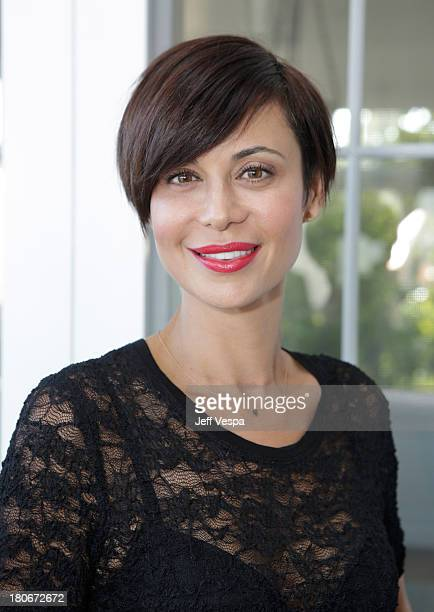 Catherine Bell attends Eddie Vedder and Zach Galifianakis Rock Malibu Fundraiser for EBMRF and Heal EB on September 15 2013 in Malibu California