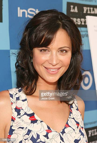 Catherine Bell during 2006 Los Angeles Film Festival Who Killed The Electric Car Screening at Landmark Regents Theater in Westwood CA United States
