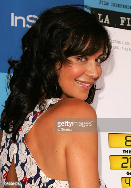 Catherine Bell during 2006 Los Angeles Film Festival Who Killed The Electric Car Screening and Green Day Fair at Westwood in Westwood California...