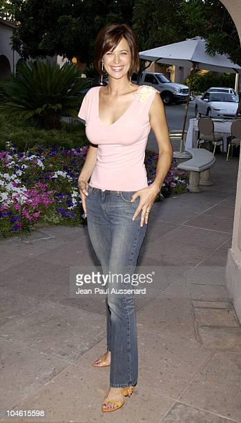 Catherine Bell during CBS Summer 2002 Press Tour & Party at Ritz Carlton Hotel in Pasadena, California, United States.