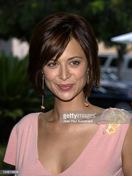 Catherine Bell during CBS Summer 2002 Press Tour Party at Ritz Carlton Hotel in Pasadena California United States