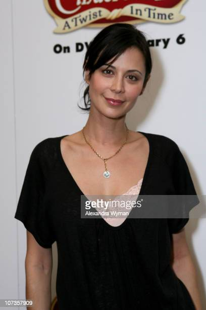 Catherine Bell during 'Cinderella III A Twist in Time' DVD Release Benefiting St Jude Children's Research Hospital at Wyndham Bel Age Hotel in West...
