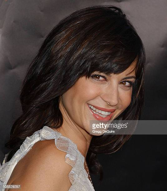 Catherine Bell during Collateral Los Angeles Premiere Arrivals at Orpheum Theatre in Los Angeles California United States