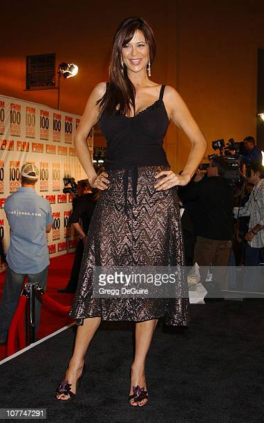 Catherine Bell during FHM Magazine Hosts The 100 Sexiest Women in the World Party at Raleigh Studios in Hollywood California United States