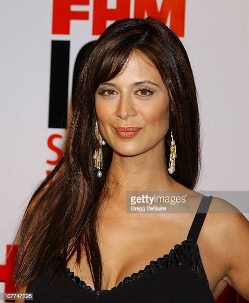 """Catherine Bell during FHM Magazine Hosts The """"100 Sexiest Women in the World"""" Party at Raleigh Studios in Hollywood, California, United States."""