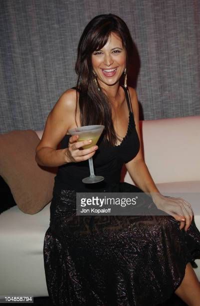 Catherine Bell during FHM's 100 Sexiest Women in the World Party CoSponsored by Smirnoff Vodka at Raleigh Studios in Hollywood California United...