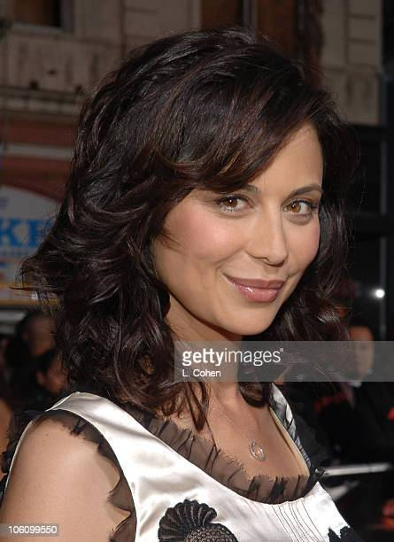 Catherine Bell during Mission Impossible III Fan Screening Red Carpet at Grauman's Chinese Theatre in Los Angeles California United States