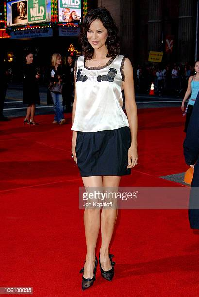 """Catherine Bell during """"Mission: Impossible III"""" Los Angeles Fan Screening - Arrivals at Chinese Theater in Hollywood, California, United States."""