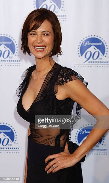 Catherine Bell during Paramount Pictures Celebrates 90th Anniversary With 90 Stars for 90 Years at Paramount Pictures in Los Angeles California...