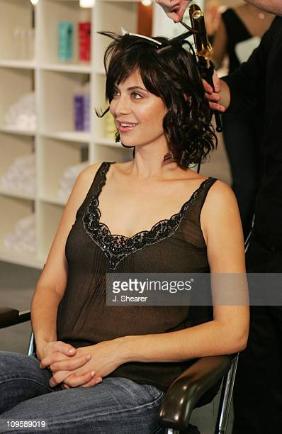 Catherine Bell during Red Carpet'05 Benefiting the Dream Foundation Fashion Show Backstage at The Pacific Design Center in West Hollywood California...