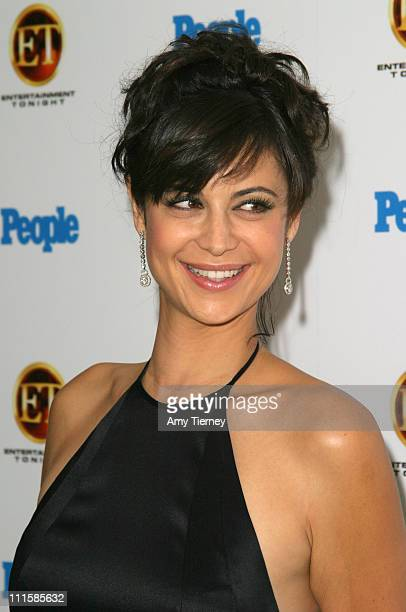 Catherine Bell during The 56th Annual Primetime Emmy Awards People Magazine ET Party at Mondrian in West Hollywood California United States