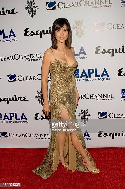Catherine Bell during The Abbey/Esquire Magazine's The Envelope Please Oscar Party Arrivals at The Abbey in Los Angeles CA United States