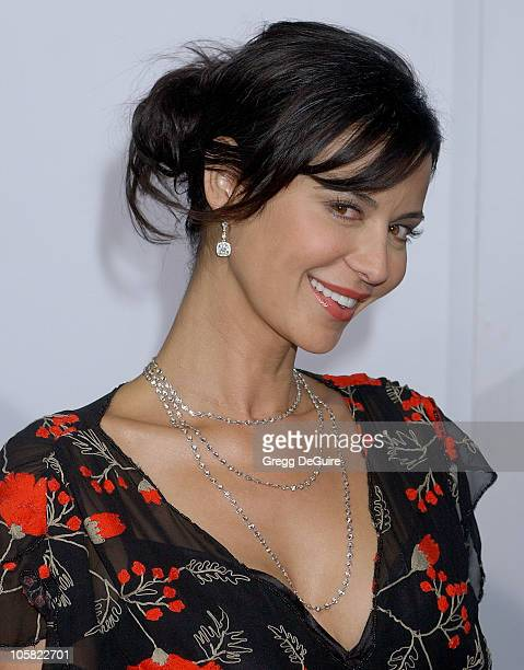 Catherine Bell during The Pursuit Of Happyness Los Angeles Premiere Arrivals at Mann Village Theatre in Westwood California United States