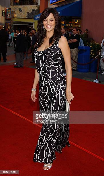 Catherine Bell during The World Premiere of Bruce Almighty at Universal Amphitheatre in Universal City California United States