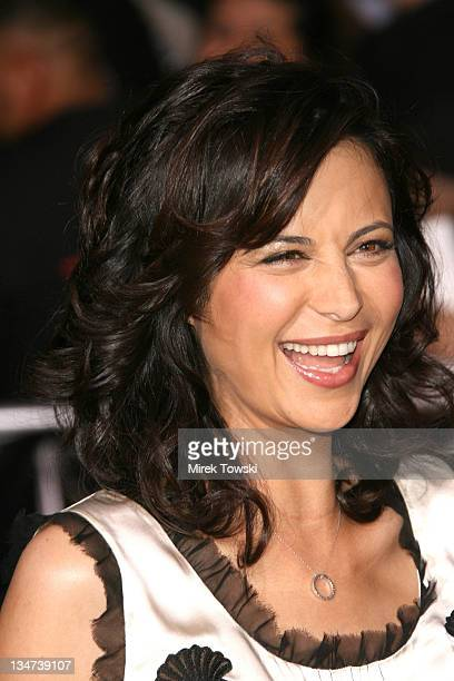 Catherine Bell during Tom Cruise Fan Club Screening of 'Mission Impossible III' in Los Angeles Arrivals at Grauman's Chinese Theater in Hollywood CA...