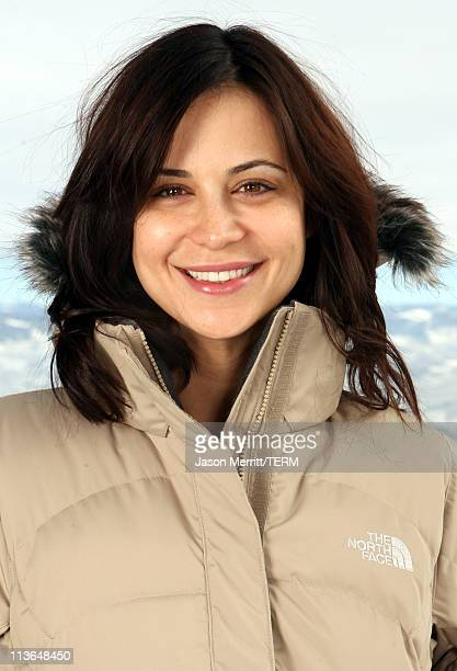 Catherine Bell with North Face at The North Face House *Exclusive Coverage*