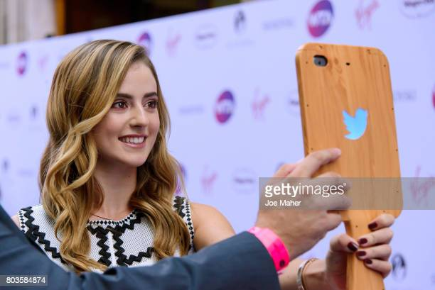Catherine Bellis attends the WTA PreWimbledon party at Kensington Roof Gardens on June 29 2017 in London England