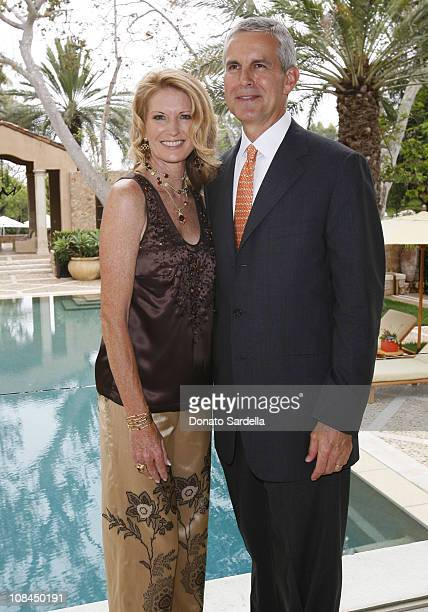 Catherine Beyer and Bob Beyer during MaxMara and the C.H.I.P.S Host A Luncheon Benefitting The Children's Institute Incorporated at Century Plaza in...