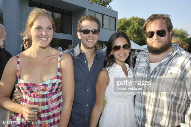 Catherine Blaire Carlson John Nordeman Kay Nordeman and Chris Miller attend Anne Hearst McInerney and Jay McInerney Host A Party For TAYLOR PLIMPTON...