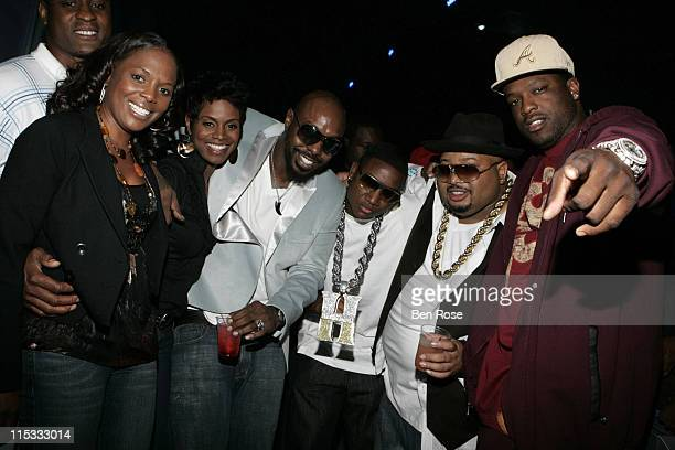 Catherine Brewton of BMI Rashan Ali Sleepy Brown Yung Joc Jazze Pha and Block
