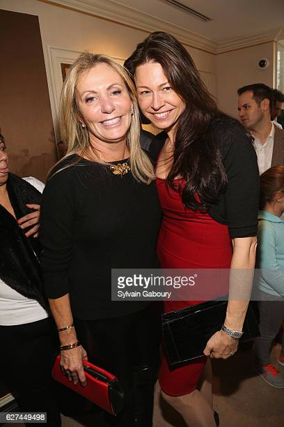 Catherine Carey and Paige Boller attend If You Give a Mouse a Maltese Cross Holiday Party at Verdura Showroom on December 3 2016 in New York City