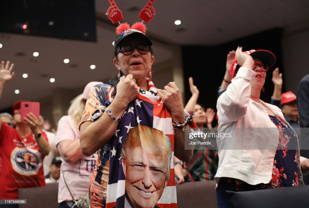 "Trump Campaign Launches ""Evangelicals For Trump"" Coalition In Miami : News Photo"
