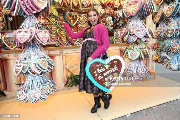 Catherine Cathy Hummels during the Angermaier Wies'n as part of the Oktoberfest at Theresienwiese on September 19 2017 in Munich Germany