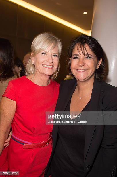 Catherine Ceylac and Valerie Expert attend the Grand Opening Sofitel Paris Arc de Triomphe in Paris