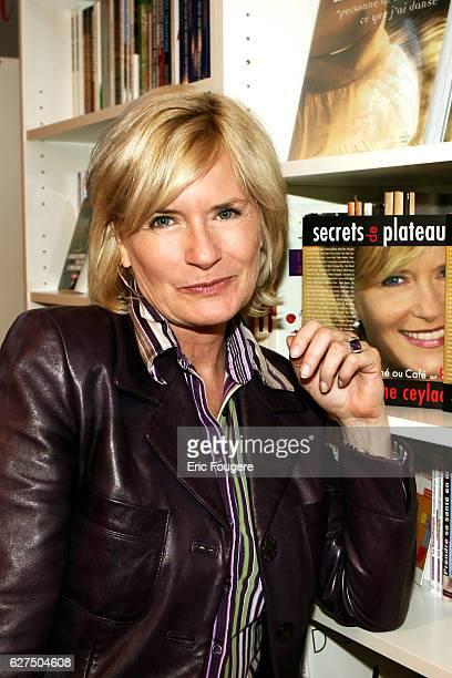 Catherine Ceylac at the 'Salon du Livre 2006' in Paris