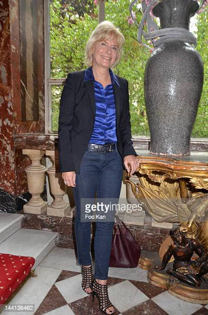 Catherine Ceylac attends 'La Flamme Marie Claire' 3rd Edition Press Conference at the Salon FranceAmeriques on May 10 2012 in Paris France