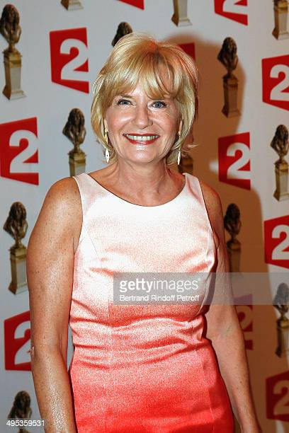 Catherine Ceylac attends the 26th Molieres Awards Ceremony at Folies Bergere on June 2 2014 in Paris France