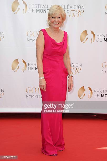Catherine Ceylac attends the closing ceremony of the 53rd Monte Carlo TV Festival on June 13 2013 in MonteCarlo Monaco