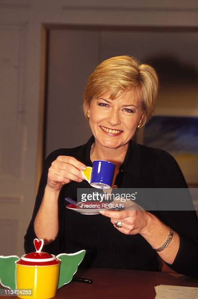 Catherine Ceylac Presents 'The Cafe Or' On February 2nd 1996 In France