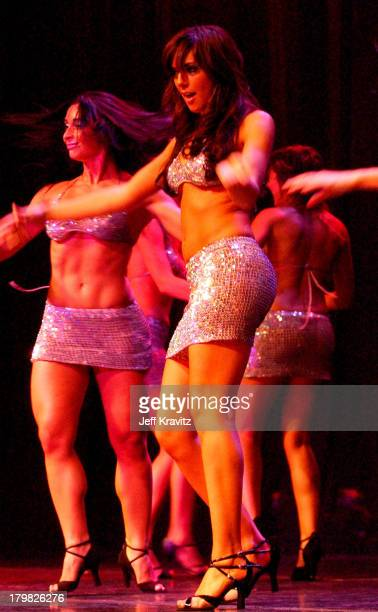 Catherine Chiarelli and Jenna Morasca during Reality Revue Burlesque Show August 7 2004 at Xanadu Showroom Trump Taj Majal in Atlantic City New...