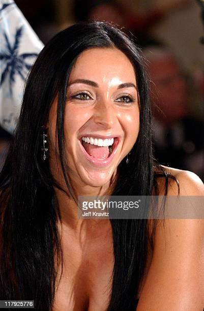 Catherine Chiarelli during Reality Revue Blackjack Tournament August 7 2004 at Trump Taj Majal in Atlantic City New Jersey United States