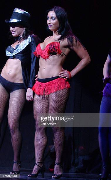 Catherine Chiarelli during Reality Revue Burlesque Show August 7 2004 at Xanadu Showroom Trump Taj Majal in Atlantic City New Jersey United States