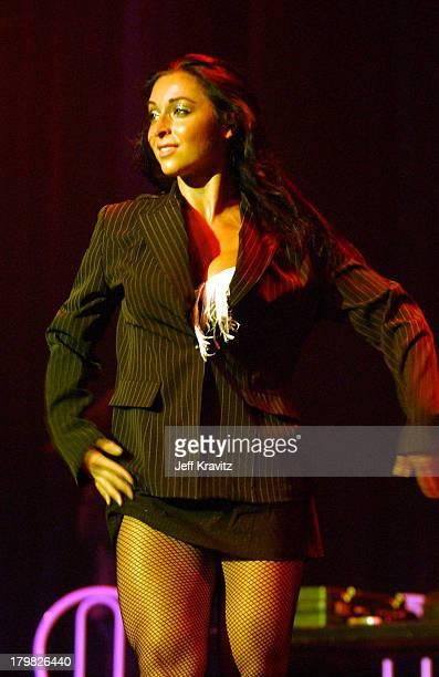 Catherine Chiarelli during Reality Revue Burlesque Show August 7 2004 at Xanadu Showroom Trump Taj Majal in Atlantic City New Jersey United States