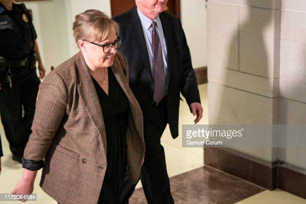Catherine Croft Foreign Service officer and former Ukraine specialist at the National Security Council leaves the Sensitive Compartmented Information...