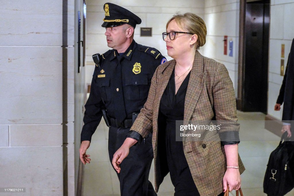State Department Special Adviser For Ukraine Catherine Croft Testifies Before House Committees : Fotografía de noticias